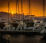 Free Photo - Sunset on the Port