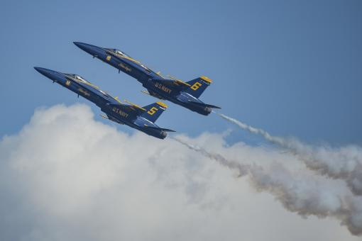 Blue Angels - Free Stock Photo