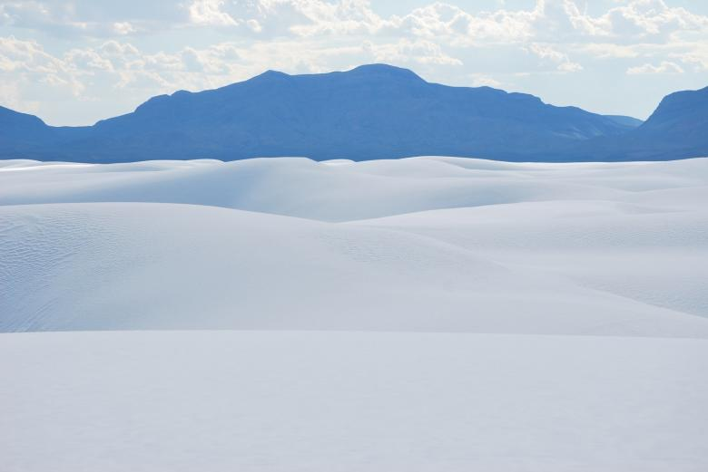 Free Stock Photo of White Sands Created by Pixabay