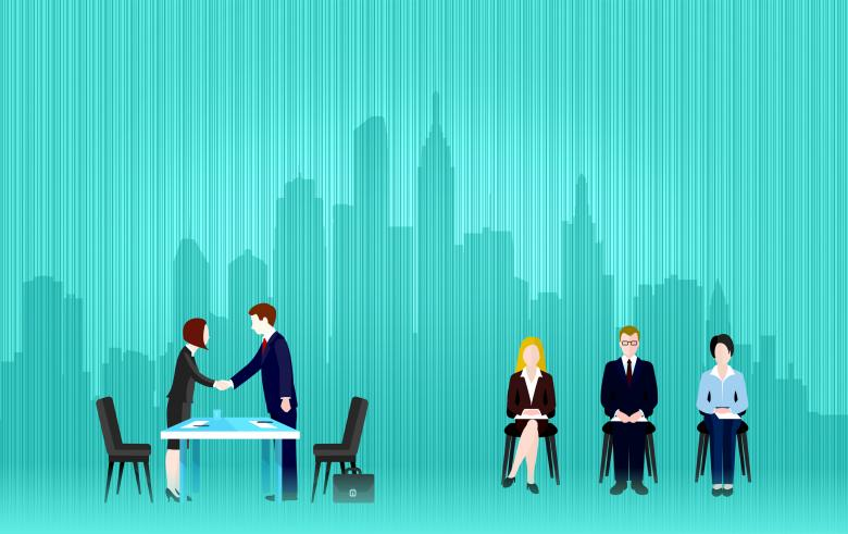 Free Stock Photo of Job Interview Created by Jack Moreh