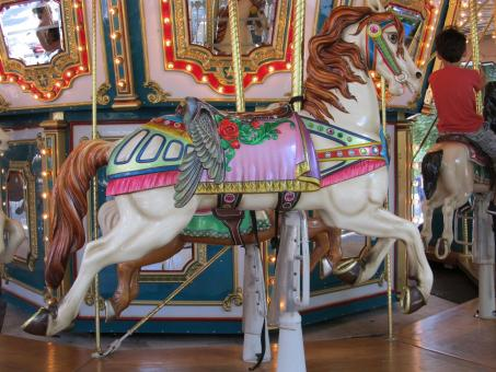 Wooden Horse Ride - Free Stock Photo