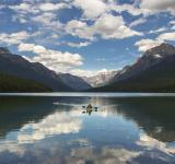 Free Photo - Rowing in Lake Mcdonald