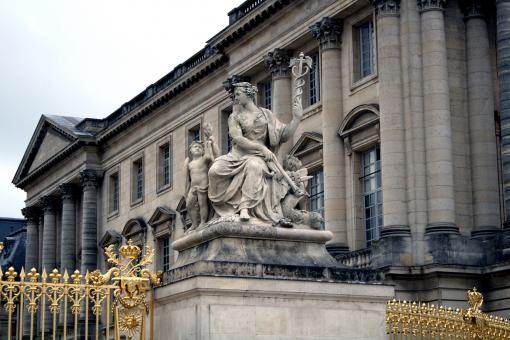 Sculpture in the palace - Free Stock Photo