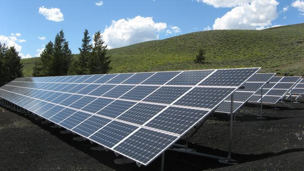 Solar Panel Array - Free Stock Photo