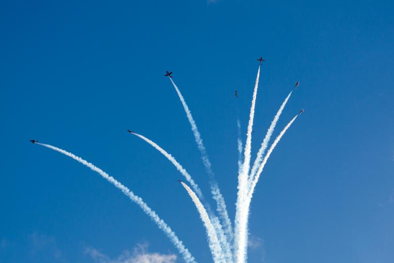 Free Stock Photo of Aerobatics show Created by Geoffrey Whiteway