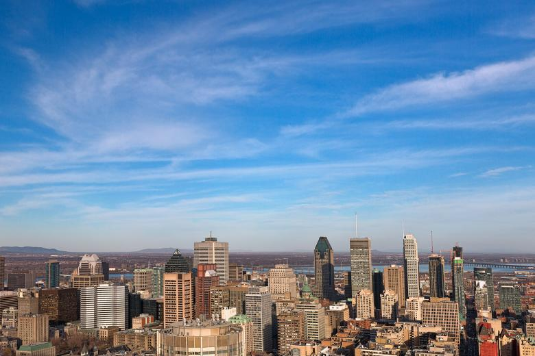 Free Stock Photo of Montreal Skyline - HDR Created by Nicolas Raymond
