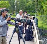 Free Photo - Photographers in Park