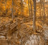 Free Photo - Stairway to Neglected Enlightenment - Sepia Gold HDR