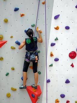Climbing the Wall - Free Stock Photo