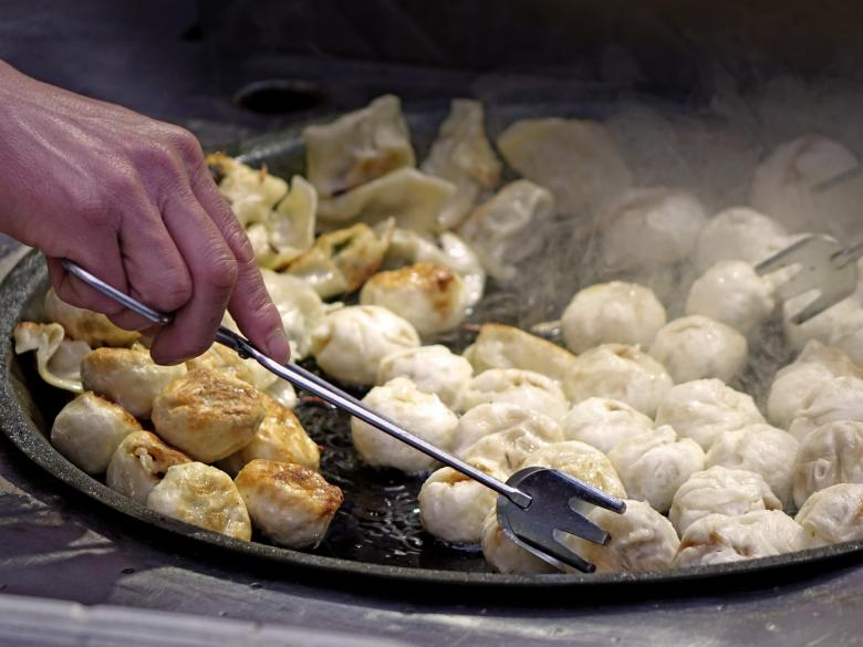 Free stock image of Baked Dumplings created by Pixabay