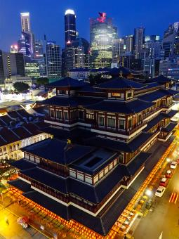 Buddha Tooth Relic Temple - Free Stock Photo