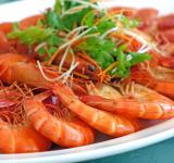 Free Photo - Steamed Prawns