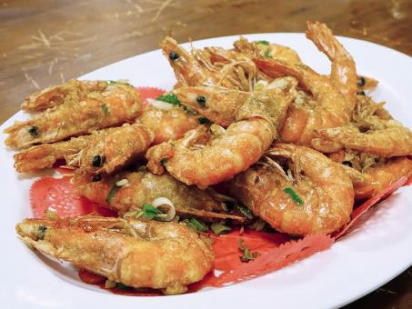 Fried Prawns - Free Stock Photo