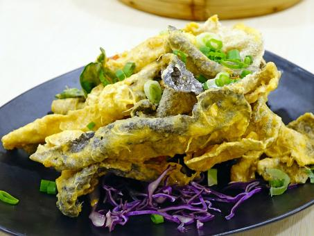 Salted Egg Fish Skin - Free Stock Photo