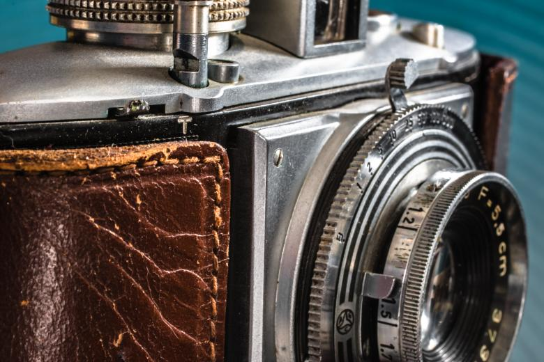 Free Stock Photo of Antique Camera Created by Pixabay
