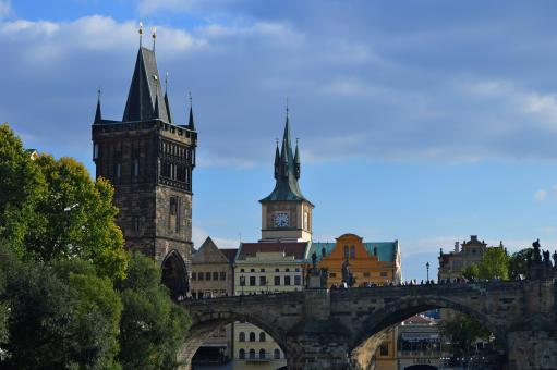 Charles Bridge, Prague - Free Stock Photo
