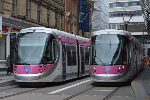 Birmingham Trams - Free Stock Photo