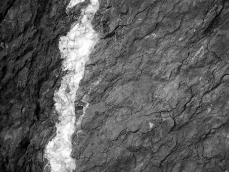 Black and White Rock Texture - Free Stock Photo