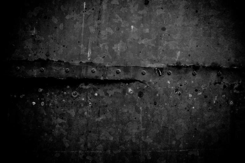 black metal texture. Old Black Metal Texture Free Stock Photo