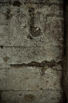 Cracked Old Concrete Wall Texture - Free Stock Photo