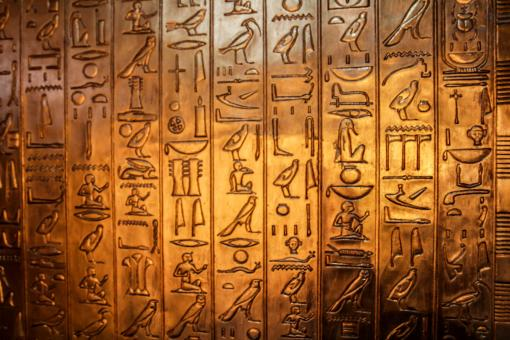 the deciphering of the mysterious ancient egyptian writings The rosetta stone one of the keys to unlocking the secrets of ancient egyptian writing was the 'rosetta stone'.