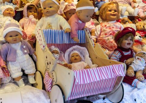 Christmas Dolls - Free Stock Photo