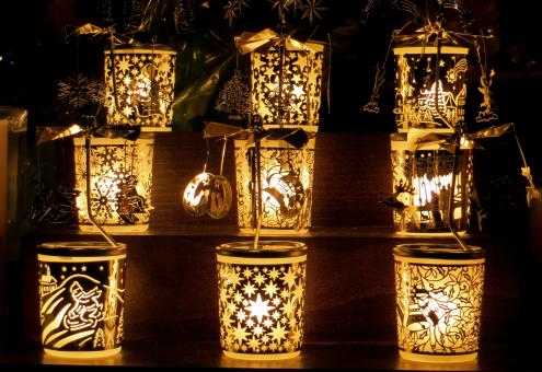Christmas Lamps - Free Stock Photo