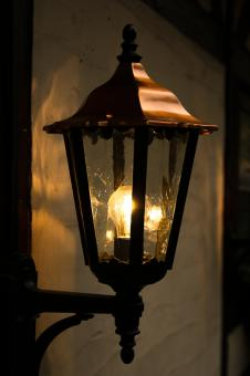 Lantern at Night - Free Stock Photo