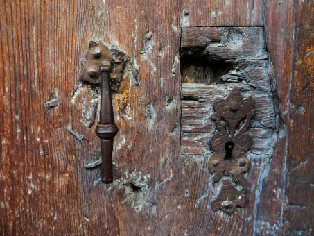 Old Wooden Door - Free Stock Photo