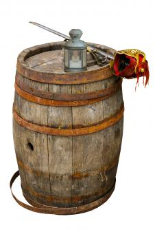 Wooden Barrel - Free Stock Photo