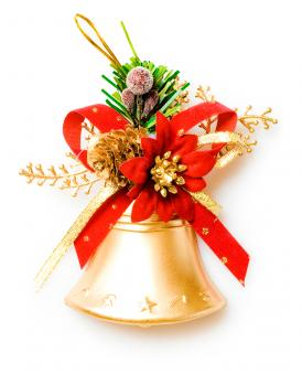 Christmas bell - Free Stock Photo