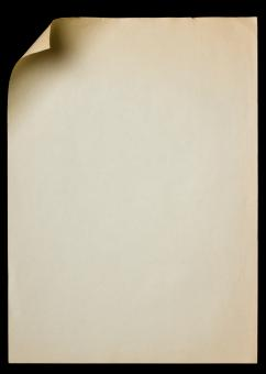 Brown Paper Page - Free Stock Photo