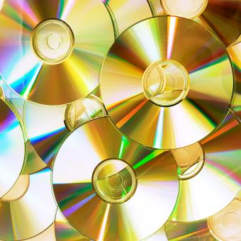 Compact Disks Background - Free Stock Photo