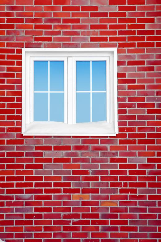 Free Stock Photo of Red Brick Wall with Window Created by 2happy