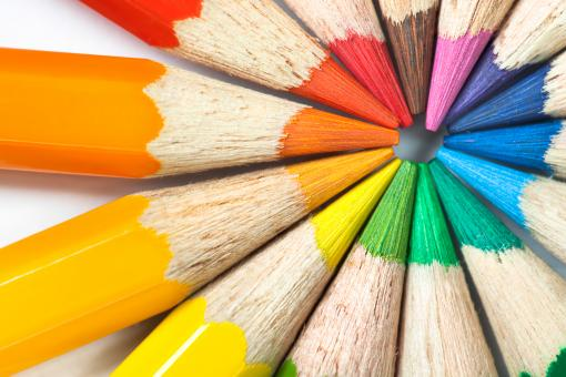 Colored pencils - Free Stock Photo
