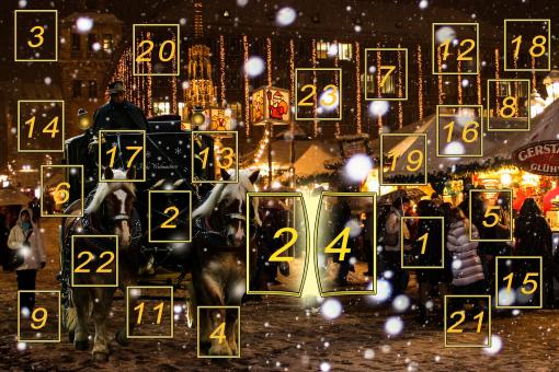 Advent Calendar - Free Stock Photo