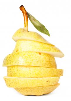 sliced pear - Free Stock Photo