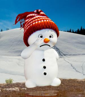 Snow Man - Free Stock Photo