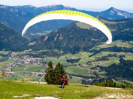 Paragliding Exercise - Free Stock Photo