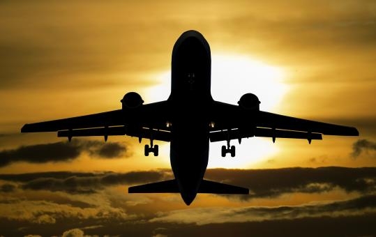 Aircraft Journey - Free Stock Photo
