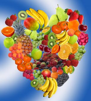 Fruit Heart - Free Stock Photo