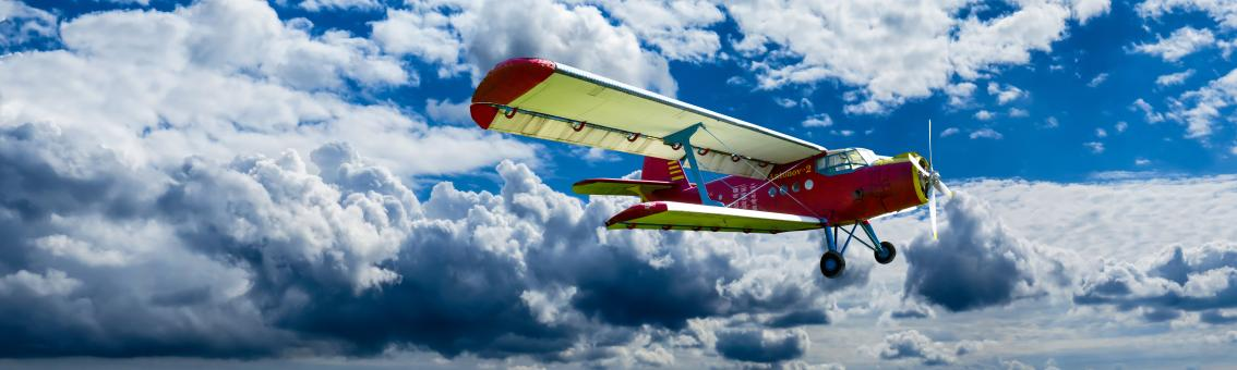 Flying Aircraft - Free Stock Photo