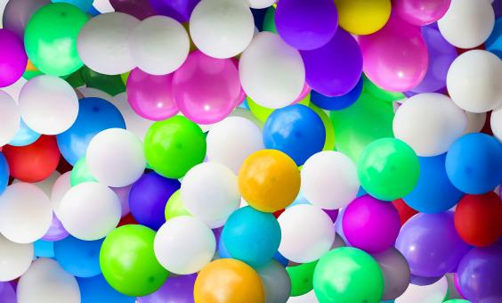Colorful Balloons - Free Stock Photo