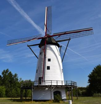 Windmill in the Village - Free Stock Photo