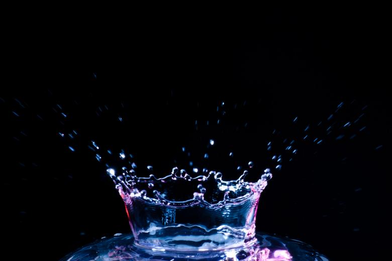 Free Stock Photo of Water Splash Created by Geoffrey Whiteway