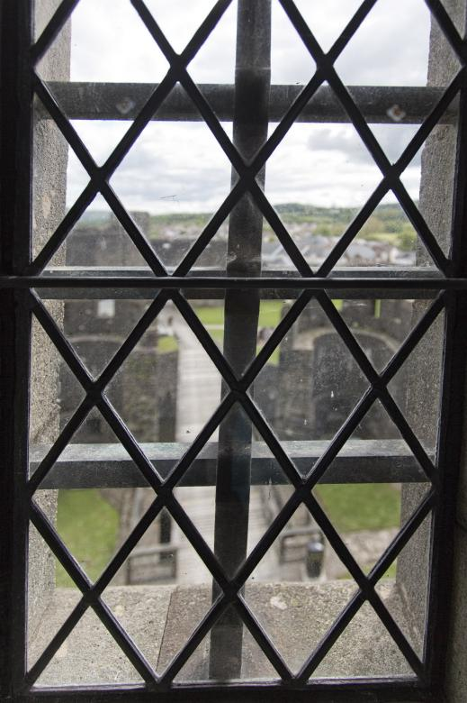 Free Stock Photo of Caerphilly Castle Window Created by Geoffrey Whiteway