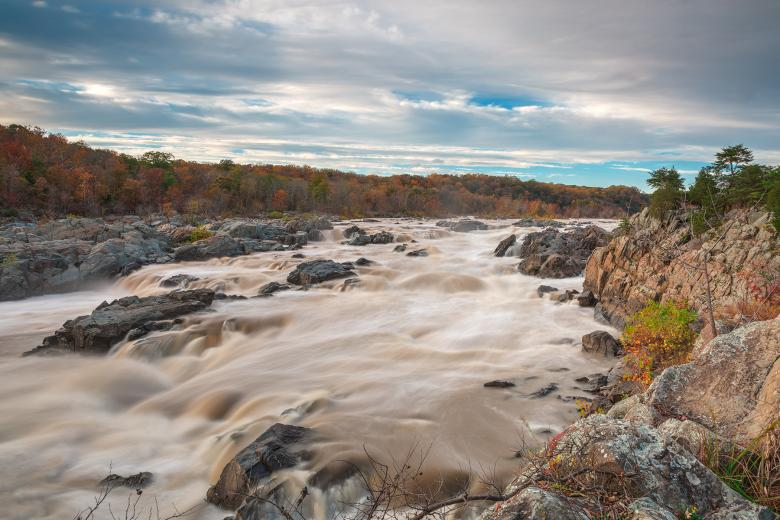 Free Stock Photo of Great Autumn Sky Falls - HDR Created by Nicolas Raymond