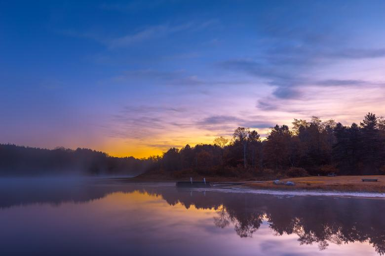 Free Stock Photo of Pendleton Dawn Fantasy Lake - HDR Created by Nicolas Raymond