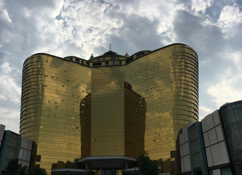 Free Stock Photo of Golden Building in China Created by kayt
