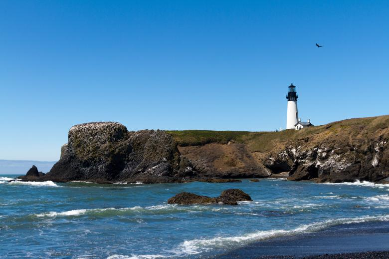 Free Stock Photo of Yaquina Head Lighthouse, Oregon Created by Geoffrey Whiteway